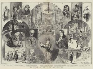 Christmas at the Theatres by Thomas Harrington Wilson