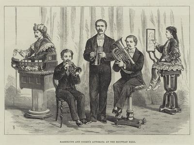 Maskelyne and Cooke's Automata at the Egyptian Hall