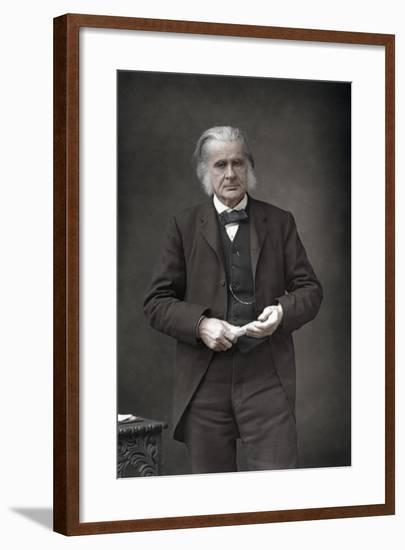 Thomas Henry Huxley (1825-189), English Biologist, 1890-W&d Downey-Framed Photographic Print