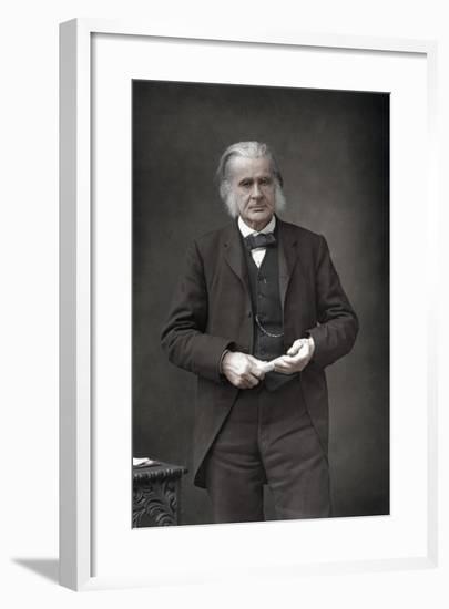 Thomas Henry Huxley (1825-189), English Biologist, 1890-W&d Downey-Framed Photographic Print