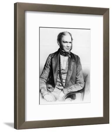 Charles Darwin, 1849 (Litho)
