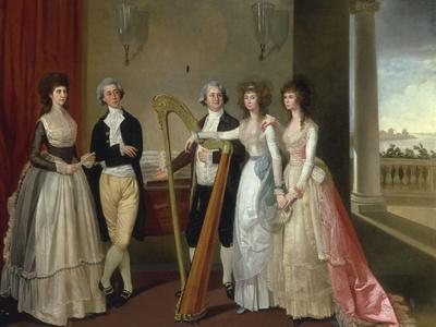 Portrait of Henry Vansittart (died 1787) and his Family