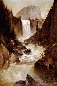 Vernal Falls, Yosemite, 1889 by Thomas Hill