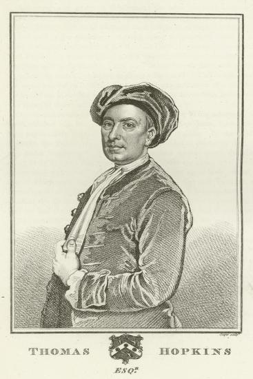 Thomas Hopkins, Esquire-Godfrey Kneller-Giclee Print