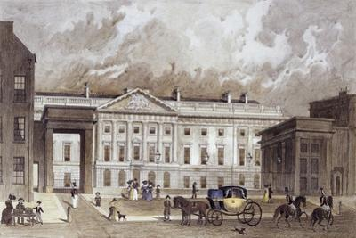 A Contemporary of the New Royal Mint, C.1830 by Thomas Hosmer Shepherd