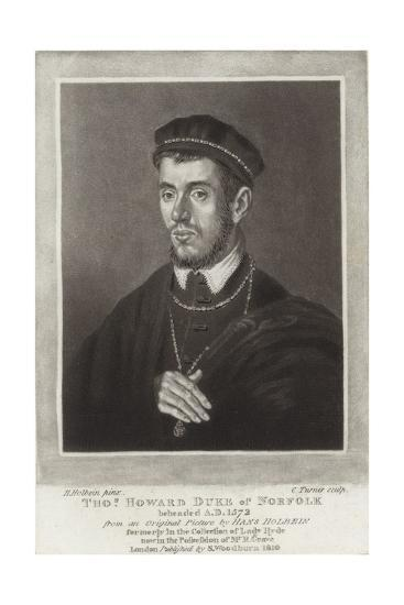 Thomas Howard Duke of Norfolk-Hans Holbein the Younger-Giclee Print