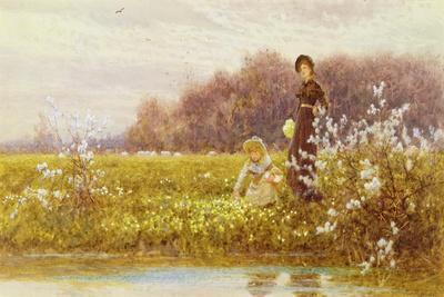 Picking Primroses, 1896
