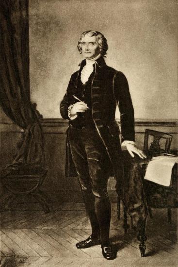 Thomas Jefferson 1743-1826--Art Print