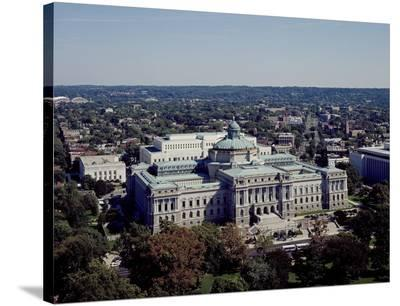 Thomas Jefferson Building from the U.S. Capitol dome, Washington, D.C.-Carol Highsmith-Stretched Canvas Print