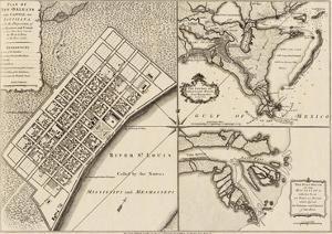 New Orleans, Louisiana, c.1759 by Thomas Jefferys