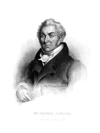Thomas Jenner, 1829--Giclee Print