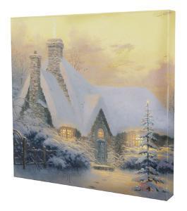 Christmas Tree Cottage by Thomas Kinkade