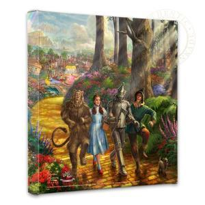Follow The YELLOW BRICK ROAD by Thomas Kinkade