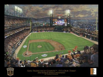 SF Giants, It's Our Time - Black border
