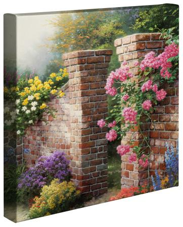 The Rose Garden by Thomas Kinkade