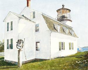 Lighthouse with Bell by Thomas LaDuke