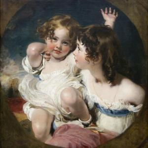 Calmady Children by Thomas Lawrence