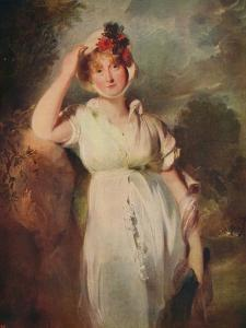 'Caroline of Brunswick (1768-1821), Queen of George IV', 1798, (c1915) by Thomas Lawrence