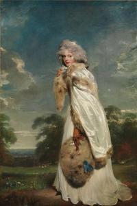 Elizabeth Farren, 1790 by Thomas Lawrence