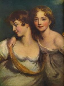 Fanny and Jane Hamond, 19th century, (1917) by Thomas Lawrence