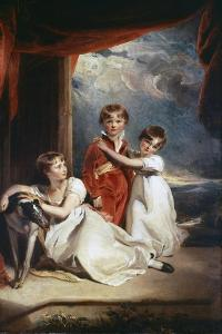 Fluyder Children, 1805 by Thomas Lawrence