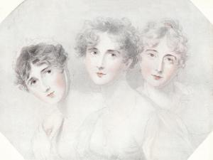 'Lady Bagot, Viscountess Burghersh and Lady Fitzroy Somerset', 1827, (1911) by Thomas Lawrence