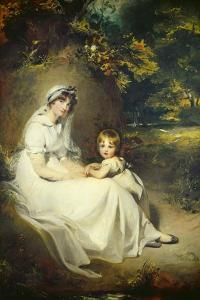 Lady Mary Templetown and Her Son, 1802 by Thomas Lawrence
