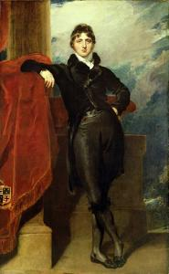 Lord Granville Leveson-Gower, Later 1st Earl Granville, c.1804-6 by Thomas Lawrence