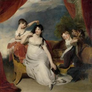 Maria Mathilda Bingham with Two of Her Children by Thomas Lawrence