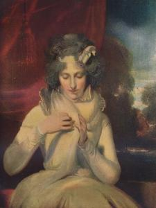 'Miss Georgina Lennox, afterwards Countess Bathurst', (1765-1842)', c1800 by Thomas Lawrence
