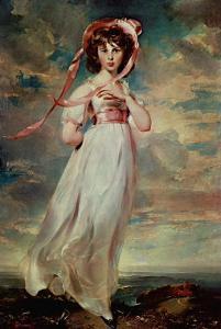 Pinkie, Sarah Barrett Moulton, 1794 by Thomas Lawrence