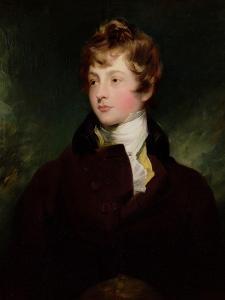 Portrait of Edward Impey, circa 1800 by Thomas Lawrence
