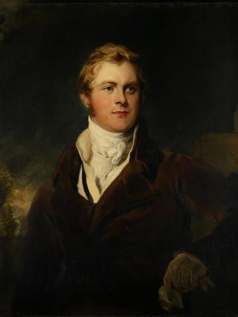 Portrait of Frederick John Robinson, First Earl of Ripon, C.1820