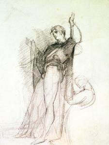 Portrait of John Philip Kemble as Hamlet by Thomas Lawrence