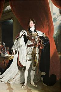 Portrait of King George IV, 1820-30 by Thomas Lawrence