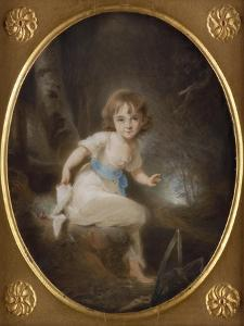 Portrait of Miss Bennett, Mid-1780s by Thomas Lawrence