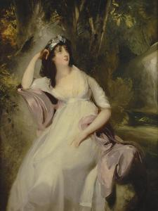 Portrait of Sally Siddons by Thomas Lawrence