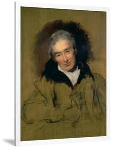 Portrait of William Wilberforce (1759-1833) 1828 by Thomas Lawrence