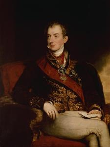 Prince Metternich, Austrian Statesman , 1815 by Thomas Lawrence