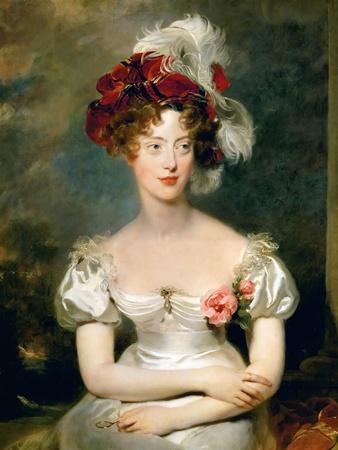 Princess Caroline of Naples and Sicily (1798-187), Duchesse De Berry