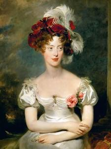 Princess Caroline of Naples and Sicily (1798-187), Duchesse De Berry by Thomas Lawrence