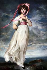 Sarah Barrett Moulin (Pinkie), 1794 by Thomas Lawrence