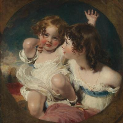 The Calmady Children (Emily, 1818–1906, and Laura Anne, 1820–94), 1823