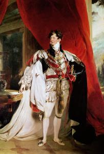 The Prince Regent, Later George IV in His Garter Robes, 1816 by Thomas Lawrence