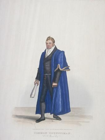 Common Councilman of the City of London, William John Reeves, in Civic Costume, 1825