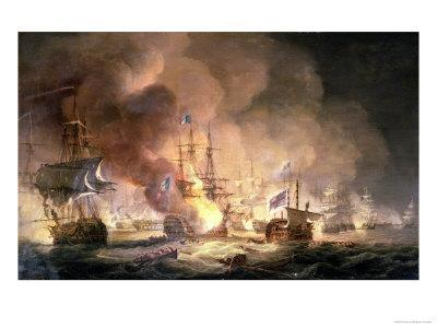 Battle of the Nile, 1st August 1798 at 10Pm, 1834