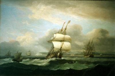 Man of War in Choppy Seas, 1809