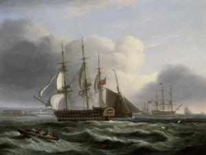 Portsmouth from Spithead by Thomas Luny