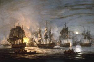 The Battle of the Nile, August 1st 1798, 1830 by Thomas Luny