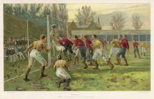 Scoring a Goal by Thomas M. Henry